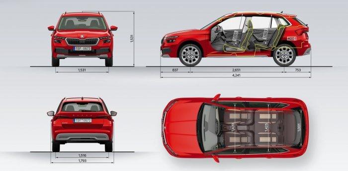 Skoda Kamiq GT - бюджетный кросс-купе: цены и харакреристики